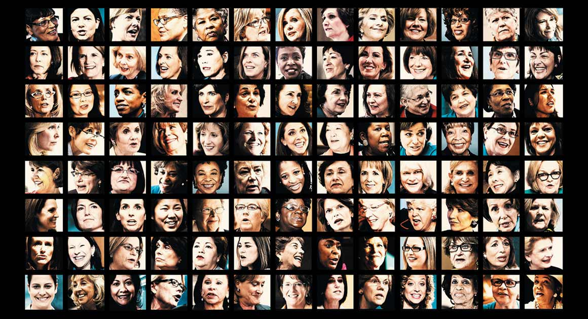 The 104 Women in Congress