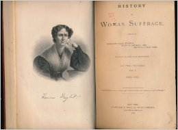 """History of Woman Suffrage\"""