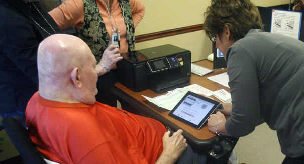 Oregon iPad Voting System