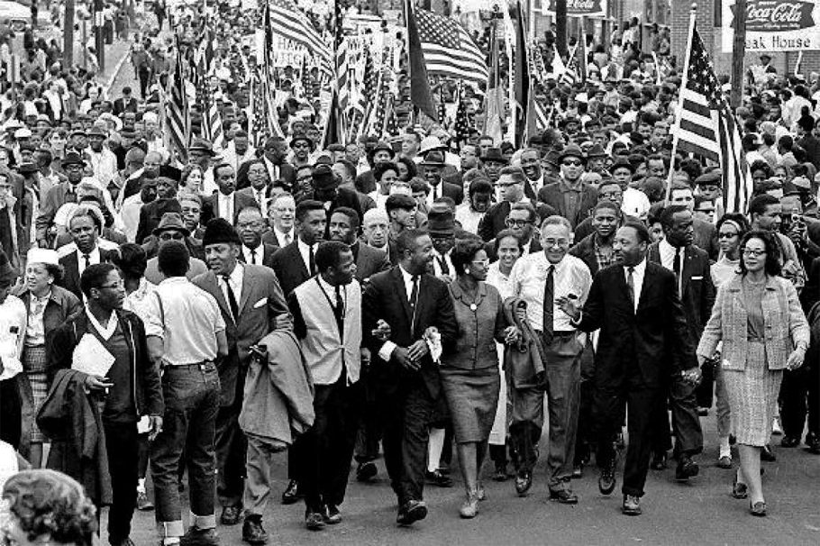 Selma to Montgomery: Martin Luther King and the march for freedom