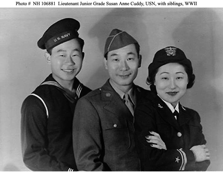 Susan Ahn and Siblings World War II