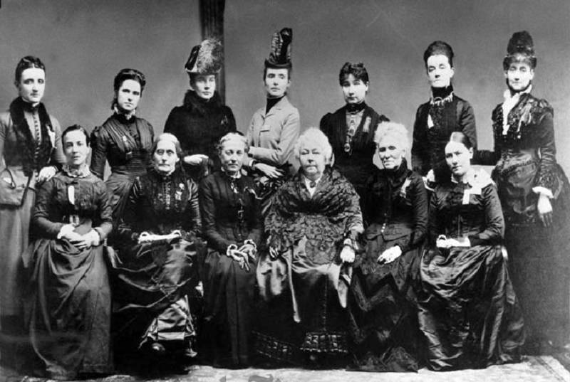 Executive Committee of the National Woman's Suffrage Association
