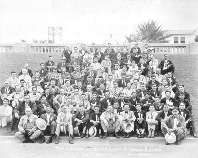 First LULAC Convention in Corpus Christi, Texas 1929; Source: LULAC