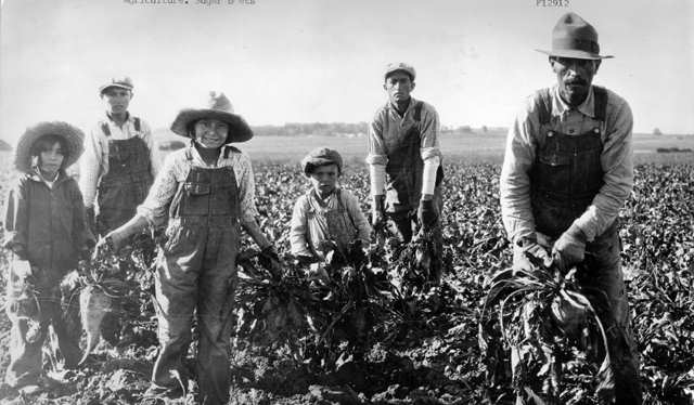Mexican Laborers 1920