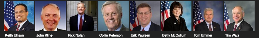 Minnesota Congressional Representatives