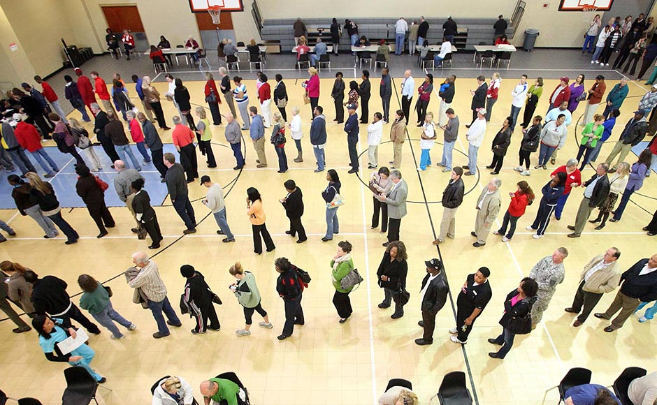 Polling Place Lines